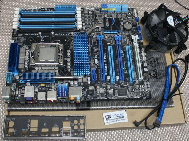 ASUS P6X58-E PRO LGA1366 Socket X58 Intel Motherboard