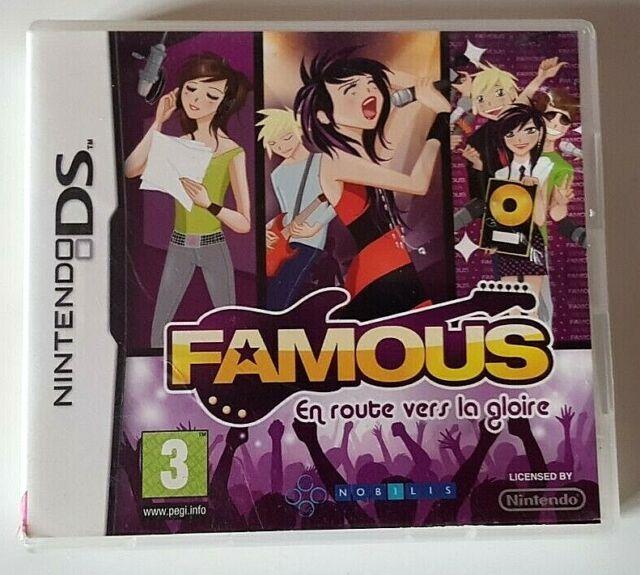 Famous en route vers la gloire - Nintendo DS