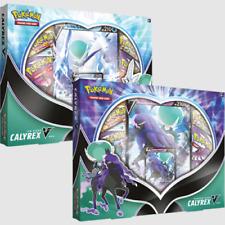 Pokemon TCG Ice Rider & Shadow Rider Calyrex V Box Set of 2
