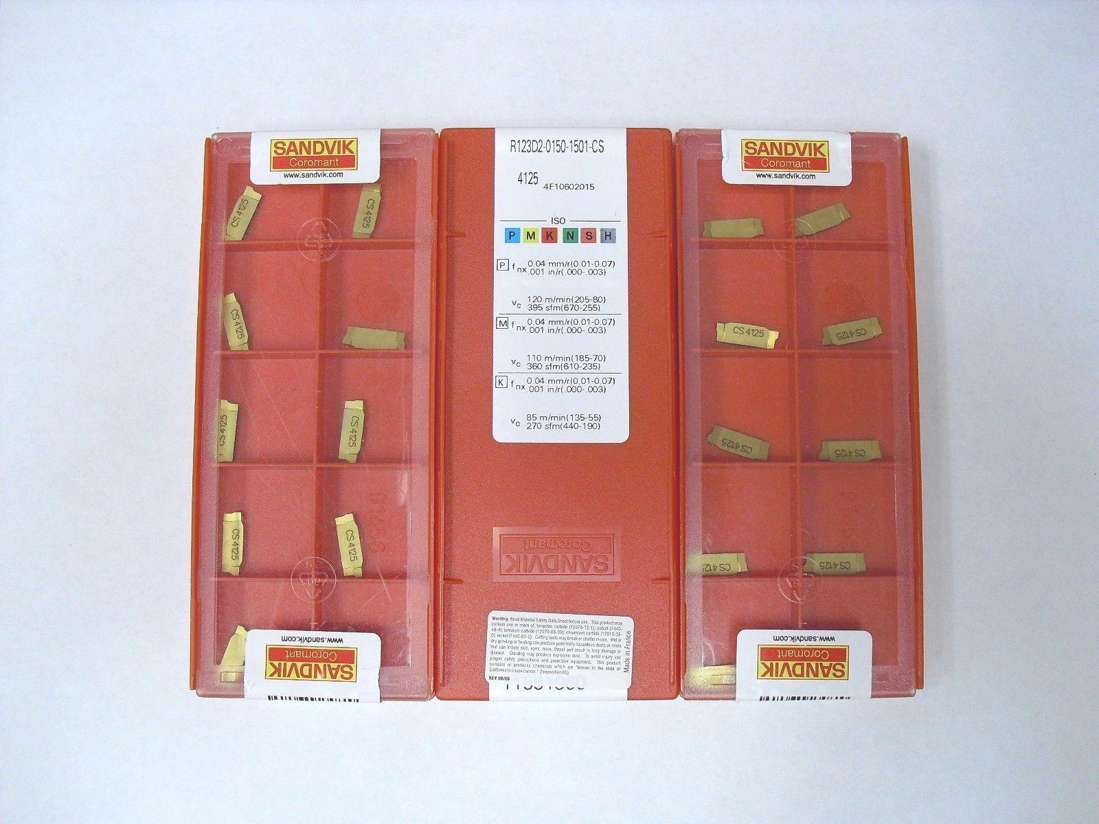 Sandvik Coromant R123H1-0150-RO 1125 PVD TiAlN CoroCut 1-2 Insert for profiling 1125 Grade Right Hand Carbide