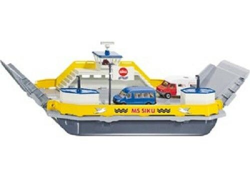 Siku Diecast 1 50 Scale Model 1750 - Car Ferry With Two Vehicles