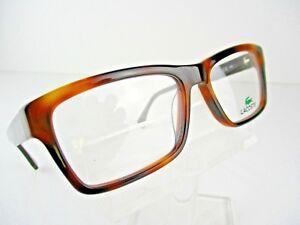 3c8b8b7f9d NEW Lacoste L-2725 (215) Dark Havana 54 X 18 140 mm Eyeglass Frames ...