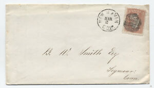 1860s-New-Haven-CT-negative-star-of-david-fancy-cancel-on-65-cover-y1960