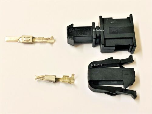 1 PIN Male Female Electrical Connector For VW Audi 19295951 191972701+191972711