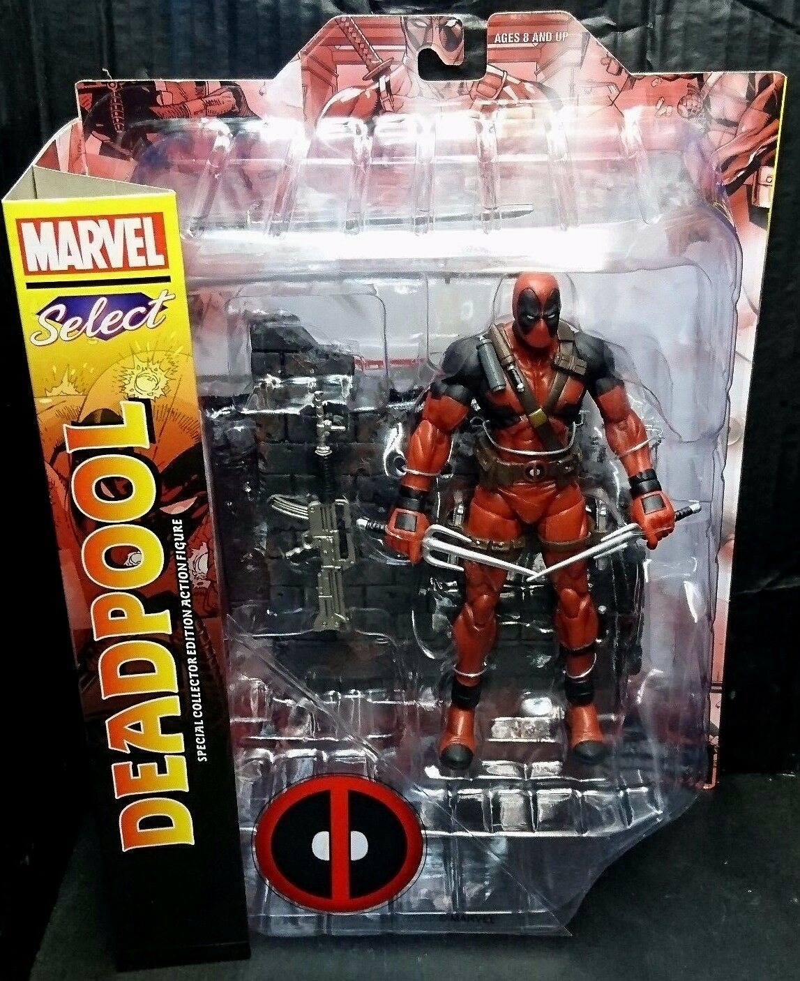 Marvel Select 7  Scale DEADPOOL New  (X-Men Cable) Rare