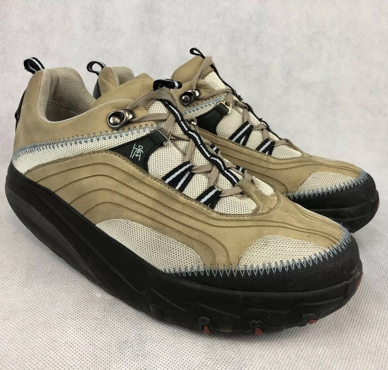 MBT Chapa Stone Womens 9.5 Orthopedic Toning Walking Leather shoes