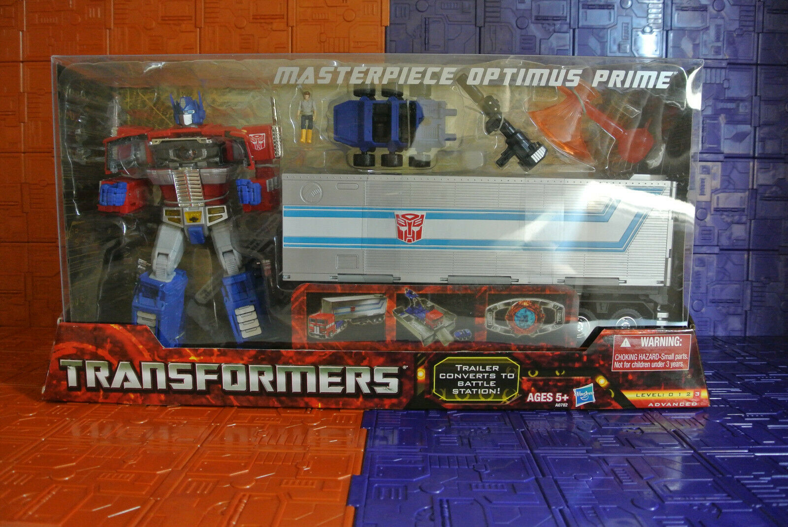 Hasbro Transformers Masterpiece Mp10 Optimus Prime US edition genuine