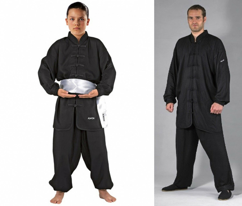 KWON CLUBLINE Kung Kung Kung Fu Anzug in Schwarz Größe 130-190 cm Kampfsport  | Kaufen  | Die Qualität Und Die Verbraucher Zunächst  | Economy  a044b7