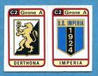 CALCIATORI PANINI 1983-84 Figurina-Sticker n. 554 -DERTHONA#IMPERIA SCUDETTO-New