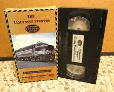 LIGHTNING STRIPERS New York Central System VHS diesel train video DES-2 & FAs
