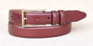 lejon belt s smooth leather dress belt 1 1 8 quot wide