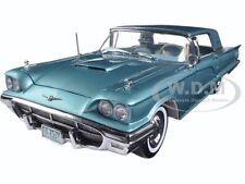 1960 FORD THUNDERBIRD HARD TOP SAPPHIRE 1/18 DIECAST MODEL CAR BY SUNSTAR 4307