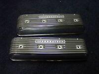 Offy Offenhauser Studebaker 239 259 289 Finned Alum Valve Covers