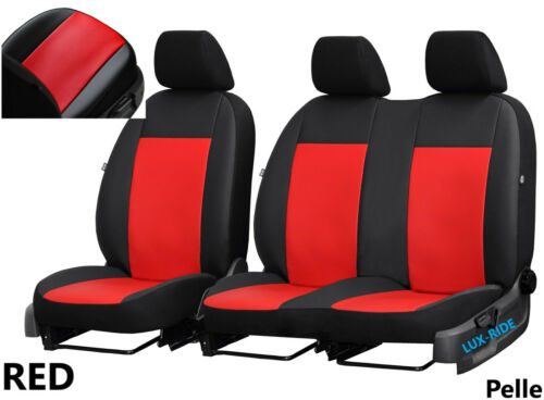 MERCEDES VITO W639 2+1 2003-2014 ARTIFICIAL LEATHER TAILORED SEAT COVERS