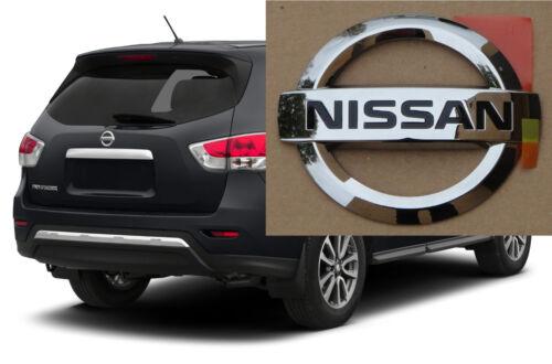 Rear Hatch Emblem Logo NISSAN PATHFINDER 2013-2016 90890-3KA0A NEW OEM