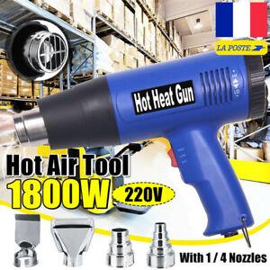 1800W-Decapeur-Thermique-Pistolet-a-Air-Chaud-Gun-Reglable-Temperature-220V