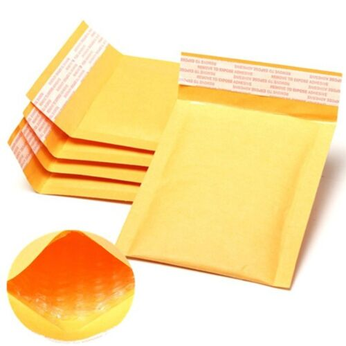 90mm x 145mm 1000 GOLD PS1 GOLD PADDED BAGS ENVELOPES CHEAP /& FREE DELIVERY