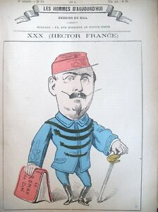 Hector-France-Writer-Caricature-Gill-the-Men-Today-1878