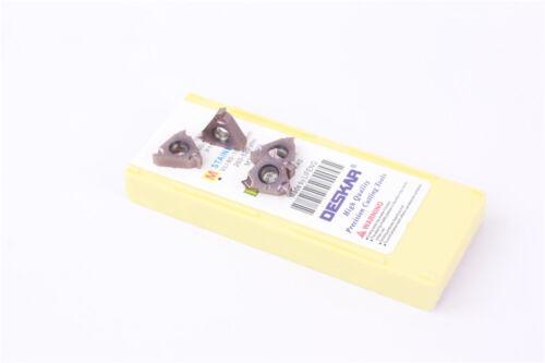 Stainless steel DESKAR 10pc 16ER M 2.0 ISO LF6018 INSERT Thread turning 16ER2.0
