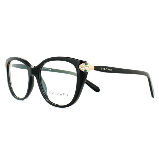 d0f8b8437ee05 Bvlgari Eyeglasses Women BV 4140b Black 501 Bv4140b 54mm for sale ...
