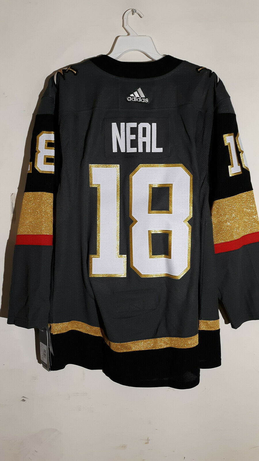 competitive price 511bd bf4e9 Authentic NHL ADIZERO Home Jersey Las Vegas Golden Knights James Neal sz 46