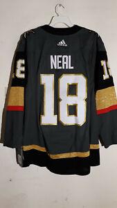 various colors 24bfa 2d7dc Details about Authentic NHL ADIZERO Home Jersey Las Vegas Golden Knights  James Neal sz 52