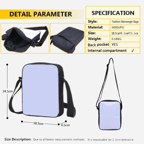 Personalized Custom Photo Design Backpack Shoulder Bag Lunch Bag Schoolbag Gifts