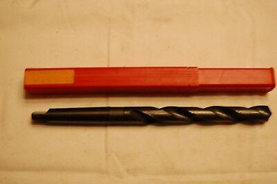 45//64 MT2 x 14OAL Taper Shank Drill