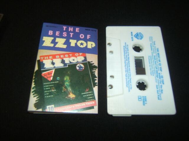ZZ TOP Z.Z. TOP THE BEST OF AUSTRALIAN CASSETTE TAPE