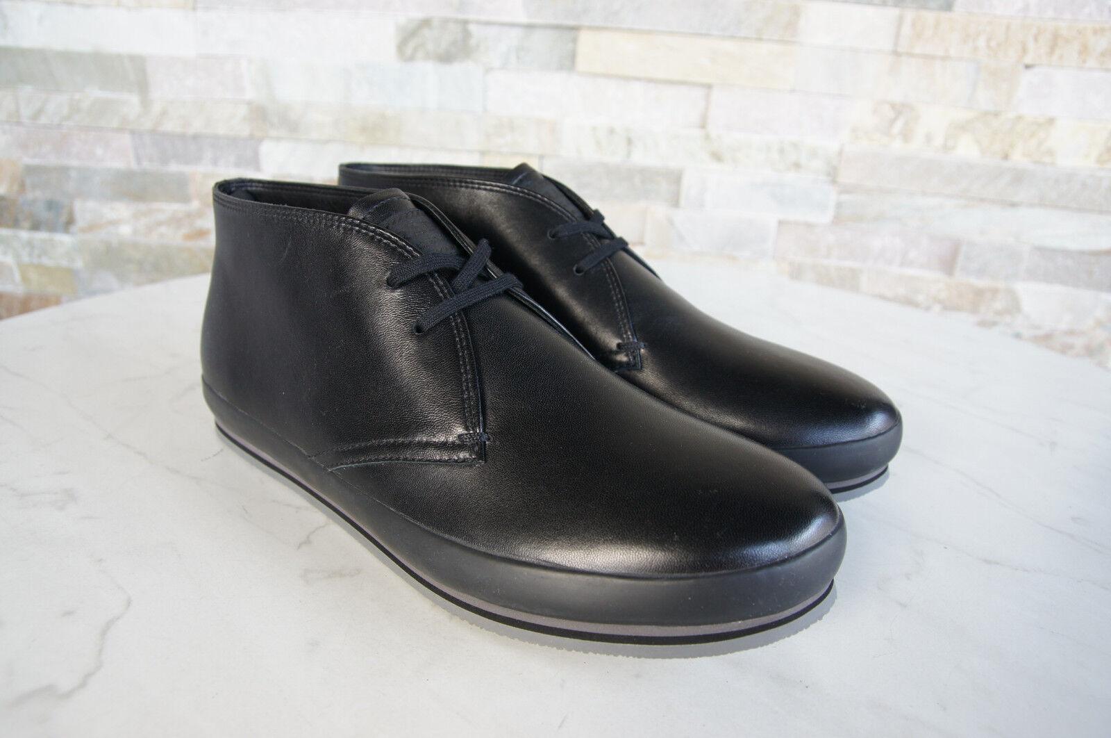Prada 6,5 6,5 6,5  40,5 Halbschuhe Schnürschuhe Schuhe 4T2405 schwarz NEU ehem   8406be
