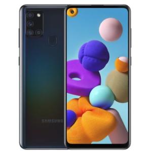 "Samsung Galaxy A21s SM-A217F  3+32GB 6.5"" Black DS ITA NO BRAND"