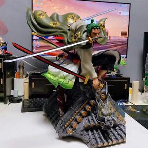 3000 World ROP109 Japanese Anime One Piece Roronoa Zoro Statue Figure Jouet Ver