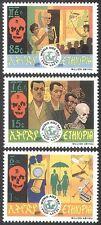 Ethiopia 1991 AIDS/Medical/Health/Welfare/Skeleton/Nurse/Doctor 3v set (n28426)
