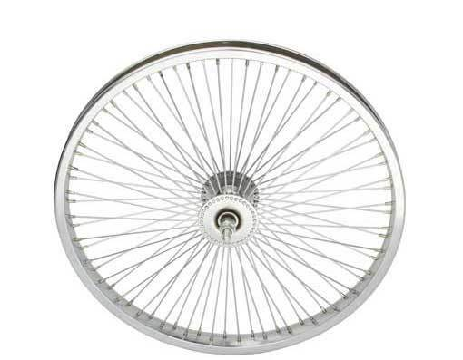 LOW RIDER LOWRIDER BIKE BICYCLE 20  72 Spoke Front Wheel 14G Chrome