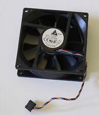 Delta 92mm Gehäuselüfter 12V 0,6A 7,2W 32mm tief ECF0912BF, Dell WC236