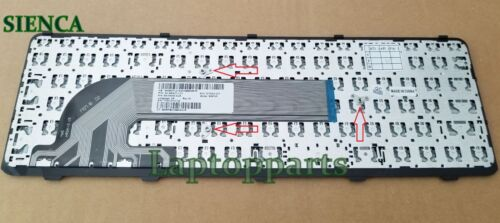 HP ProBook 450 455 470 G0 G1 Keyboard W//Frame 721953-001 727682-001 SN8126 NEW