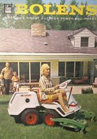 Bolens 1000 900 800 Estate Keeper Lawn Garden Tractor Color Sales Manual 26pg