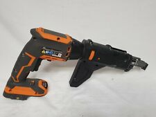 Ridgid Brushless 18V Drywall Screwdriver w// Collated Attachment 2.0Ah Battery
