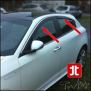 Set 4 air deflectors alfa romeo giulietta wind obscured | eBay