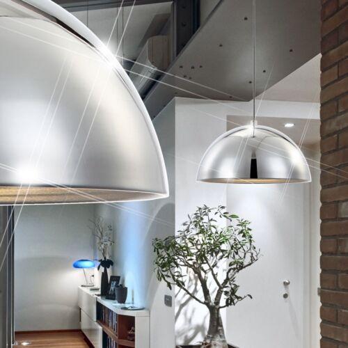 Deckenlampe Schlafzimmer Pendelleuchte Chrom Kugelform rund HxD 128x40 cm Diele
