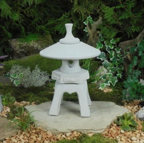 Wetterfest Steinguss Yukimi R Japanische Steinlaterne Gartenlaterne Frost u