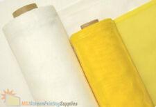 "3 Yards Yds 110 Mesh x 63"" width - White Silk Screen Silkscreen Printing Fabric"