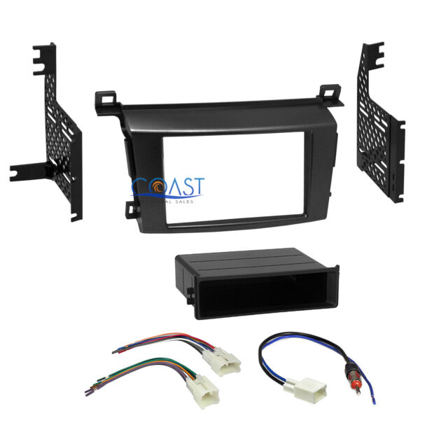 Car Radio Stereo Din 2 Din Dash Kit Wire Harness For 2013