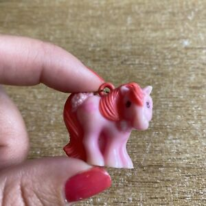 Vintage-G1-1980s-MLP-My-Little-Pony-Mummy-Charm-Mail-Order-Rare-Pink-Sweetheart