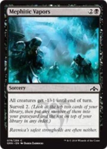 076//259 - Guilds of Ravnica Common 4 x Mephitic Vapors