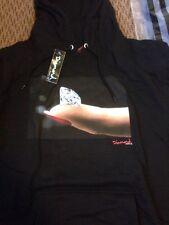 Diamomd Supply Co Imprint Hoodie Black Sz L Retail $96.00 Obey Hundreds Huff