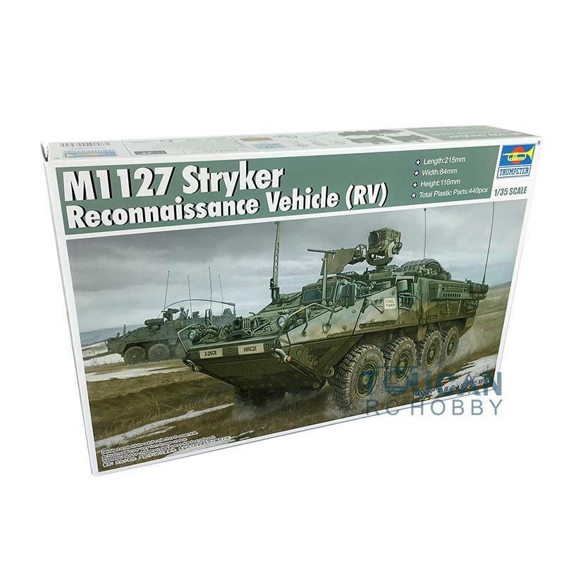Trumpeter 1 35 Scale Static Model 00395 M1127 Stryker Reconnaissance Vehicle Car