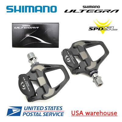 4mm Shimano Ultegra PD-R8000 Road TT Triathon Bike SPD-SL Carbon Pedal