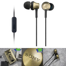 Sony MDR-EX650AP In-Ear Earphones with Mic and Control Gold -(WA USA)