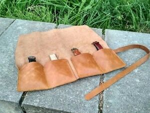 Leather-watch-roll-Travel-watch-roll-Watch-storage-Leather-watch-case-roll